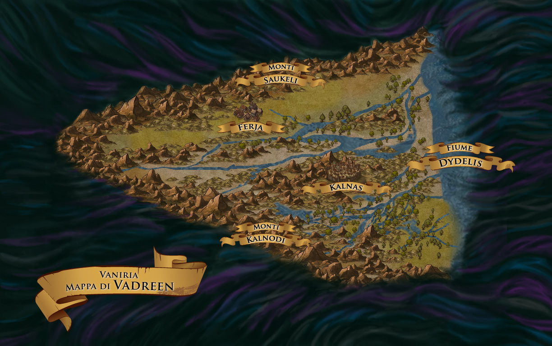 Mappa di Vadreen